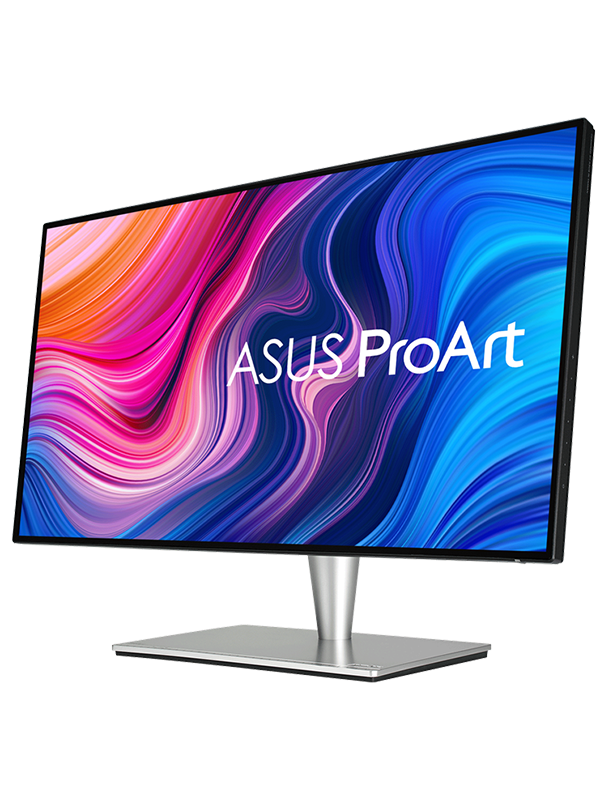 ASUS ProArt PA27AC Display 27-inch WQHD (2560 x 1440) Monitor, HDR, HDR-10, 100% of sRGB, 60 Hz, Color Accuracy ΔE < 2, Thunderbolt 3, Hardware Calibration, Black with Warranty