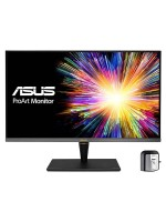 ASUS ProArt PA32UCX-K 4K HDR IPS Mini LED Professional Monitor, IPS 32 inches ( 3840 x 2160 )pixels 1200 nits, 10 bit, Dolby Vision, Hardware Calibration, Thunderbolt™ 3, Calman Ready & ColourSpace Integration, Black with Warranty