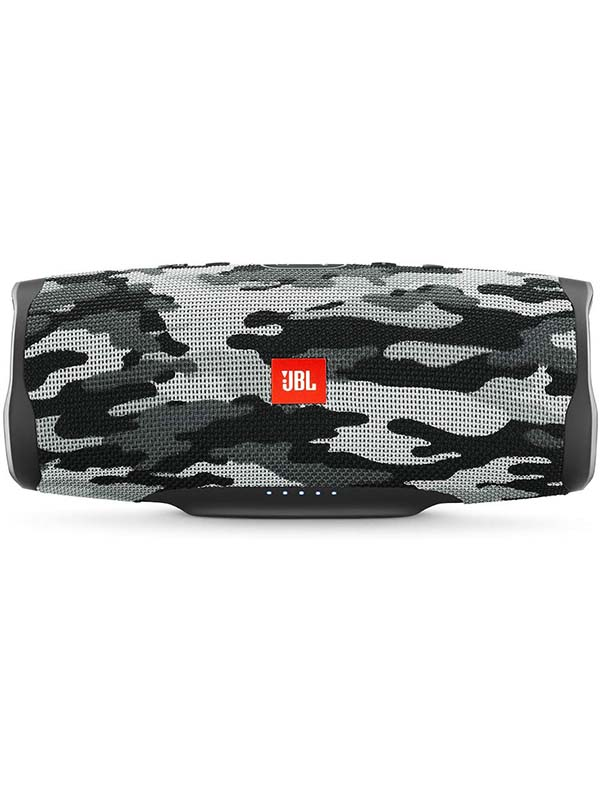 JBL Charge 4 Portable Wireless Bluetooth Speaker, Black/White Camouflage
