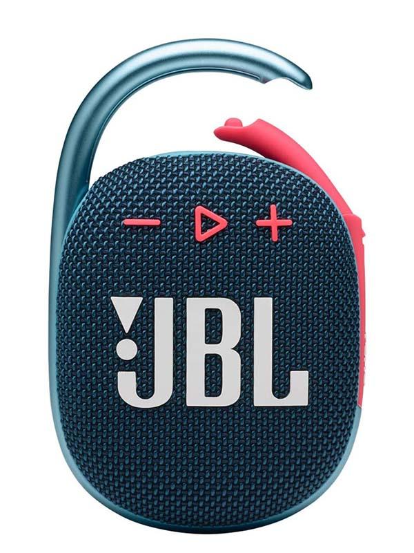 JBL CLIP4 Ultra-portable Waterproof Wireless Bluetooth Speaker, Blue & Pink