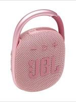 JBL CLIP4 Ultra-portable Waterproof Wireless Bluetooth Speaker, Pink