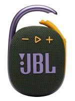 JBL CLIP4 Ultra-portable Waterproof Wireless Bluetooth Speaker, Green