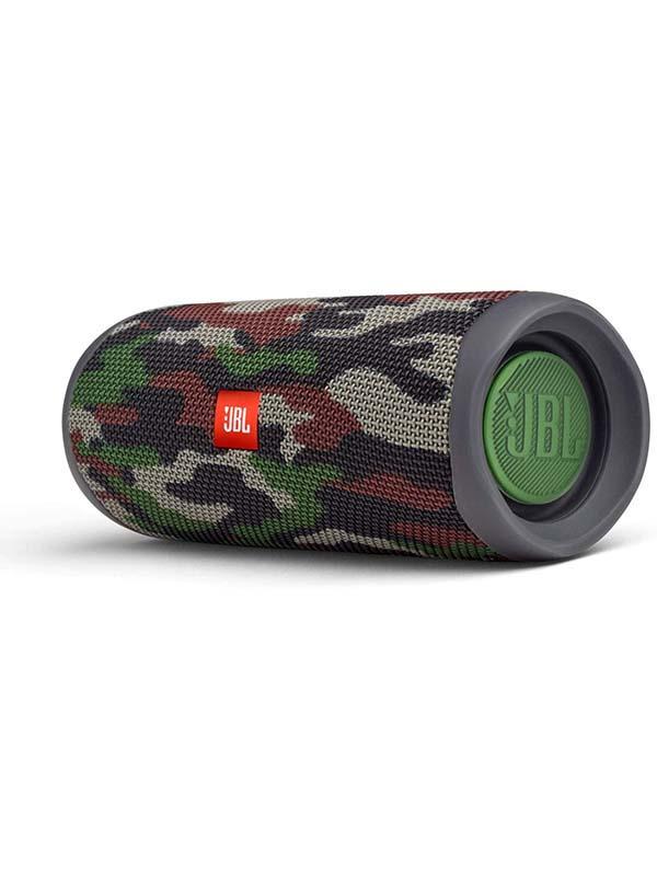 JBL Flip 5 Portable Waterproof Wireless Bluetooth Speaker, Squad