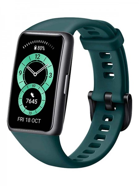 HUAWEI Band 6, Forest Green with Warranty
