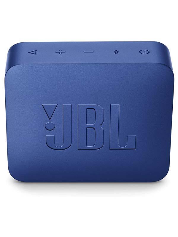 JBL GO2 Ultra Portable Waterproof Bluetooth Speaker, Blue