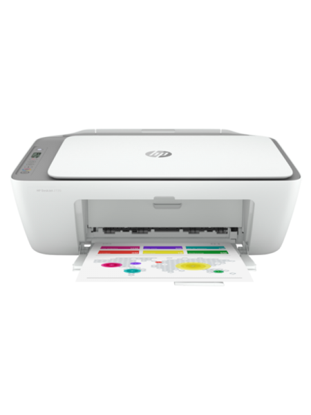 HP DeskJet 2720 All-In-One Printer, White