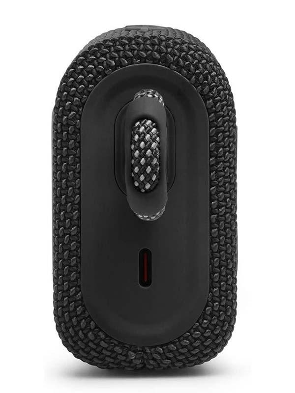 JBL Go 3 Portable Waterproof Wireless Speaker with Bluetooth, Black