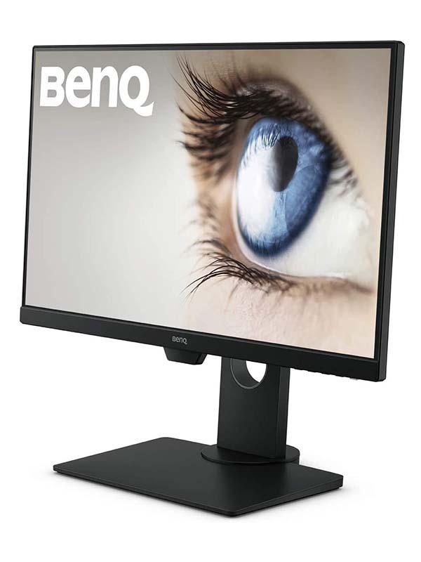 BenQ GW2480T 24-Inch 1080p IPS Eye-Care Monitor, Height Adjustment, HDMI, Brightness Intelligence, Low Blue Light, Flicker-Free, in-Built Speaker, GW2480T - Black with Warranty