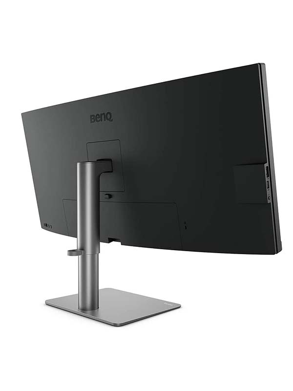 BenQ PD3420Q 34-Inch (3440x1440) WQHD, IPS, AQCOLOR, P3, sRGB, Factory-Calibrated, USB-C, KVM, Hotkey Puck G2, ICCsync, DualView 2K Ultrawide Photo Editing Professional Monitor, PD3420Q - Black with Warranty