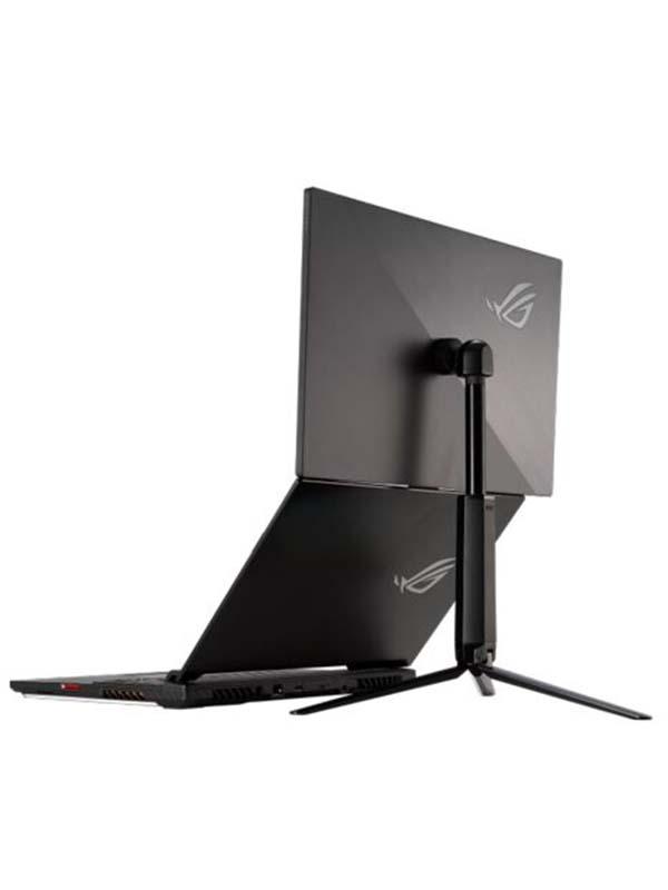 ASUS ROG Strix XG17AHP 17.3 -Inch (1920x1080) 1080P Full HD Portable Gaming Monitor, IPS, 240Hz (Supports 144Hz), Adaptive-Sync, Eye Care, Micro-HDMI USB-C, ROG Tripod, Carrying Bag , XG17AHP - Black with Warranty
