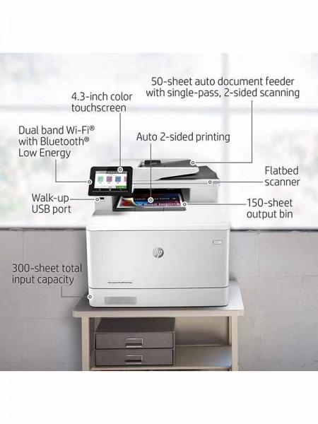 HP Color LaserJet Pro MFP M479fdw, Copy, Scan, Fax
