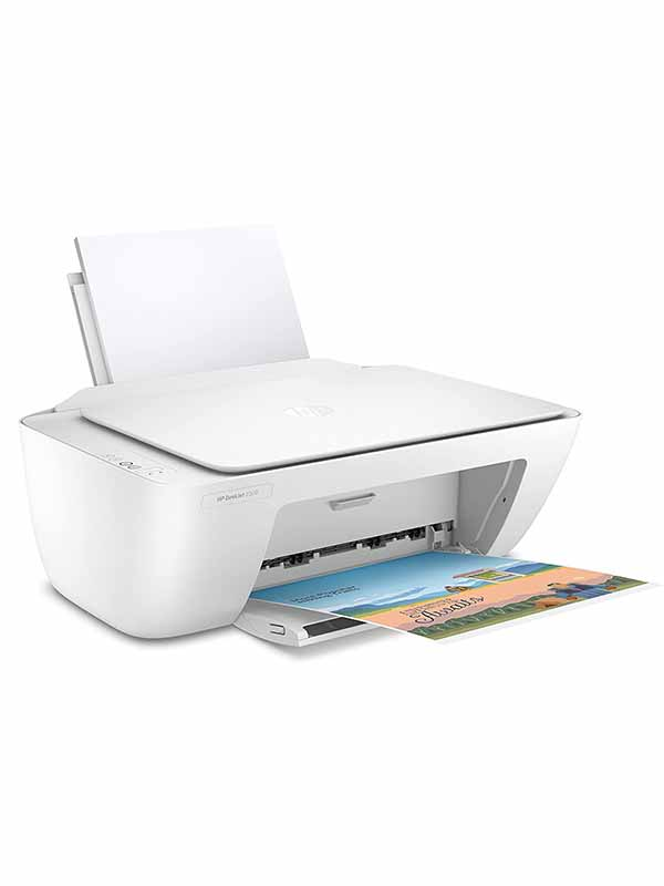 HP 2320 DeskJet All-in-One Printer, USB Plug and Print, Scan, and Copy -White | HP Deskjet 2320 / 7WN42B with Warranty