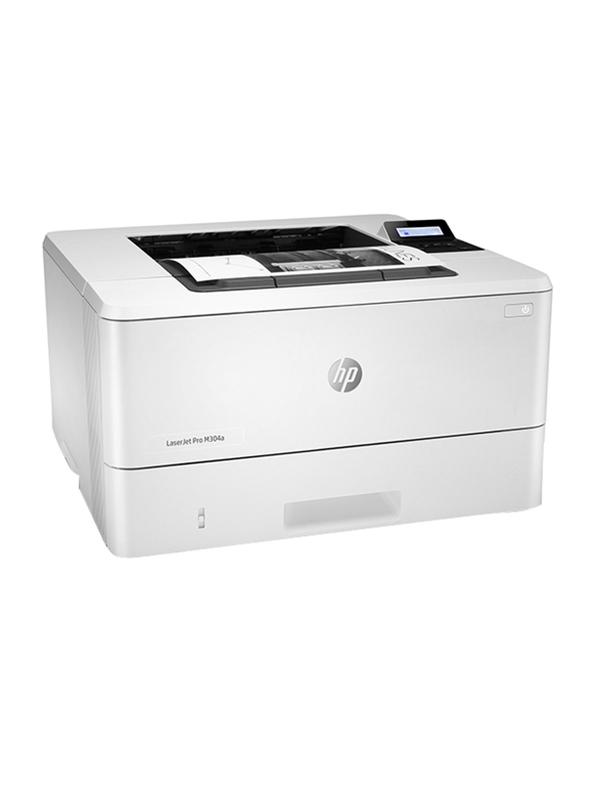HP LaserJet Pro M304A A4 Mono Laser Printer, White - W1A66A with Warranty