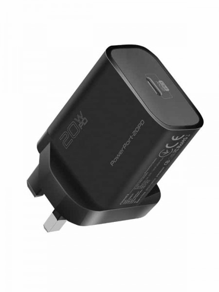 Promate 20W USB-C Ultra-Compact Fast Charge Type-C