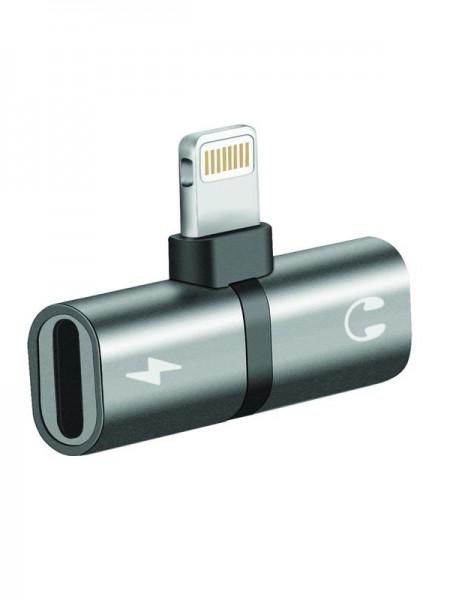 Promate iHinge-LT 2-in-1 Ultra-Slim Audio & Ch