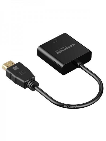 Promate Prolink-H2V VGA Converter Adapter Cable, 1