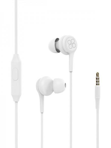 Promate Duet 3.5mm Jack In-Ear Hi-Res Noise Isolat