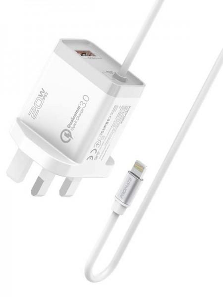 Promate iCharge-PDQC3 Quick Charge 3.0 Port 20W Ul