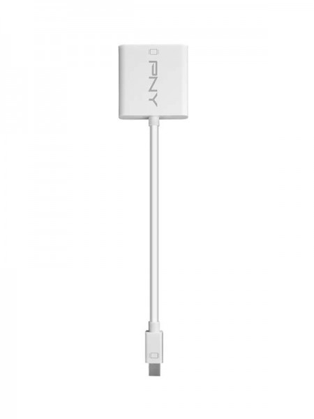 PNY Mini Display Port to DVI Adapter | A-DM-DV-W01