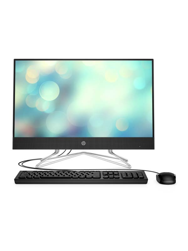 HP 24-DF051NH, Core i5-1035G1 (1.0 GHz), 8GB, 1TB HDD, NVIDIA GeForce MX 330(2GB), 23.8 inch FHD (1920 x 1080) Touchscreen with DOS, Keyboard & Mouse | 2D4L3EA
