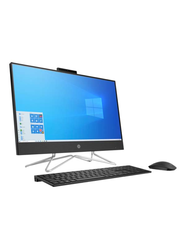HP AiO 24-df1013ne Bundle PC, Core i5-1135G7 (4.2 Ghz), 8GB, 512GB SSD,Iris Xe Graphics, 23.8 inch FHD (1920 x 1080), Touchscreen with Windows 10 Home | 3B4Z3EA