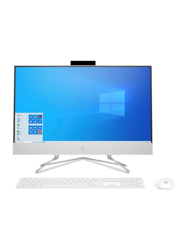 HP AiO 24-df1014ne Bundle PC, Core i5-1135G7 (4.2 Ghz), 8GB, 1TB HDD, Iris Xe Graphics, 23.8 inch FHD (1920 x 1080), Touchscreen with Windows 10 Home | 3B4Z4EA