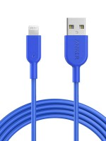 Anker Powerline II Fast Charging Lightning Cable (6ft), Blue with Warranty