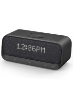 Anker Soundcore Wakey Wireless Bluetooth Speaker with Wireless  Charger & Alarm Clock, Black With Warranty