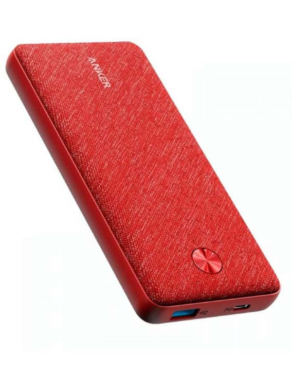 Anker 20000 mAh Powercore Metro Essential Power bank, Red with Warranty