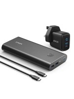 Anker PowerCore+ 26800 PD 45W with 60W PD Charger, Power Delivery Portable Fast Charging for Laptops, Tablets and Phones