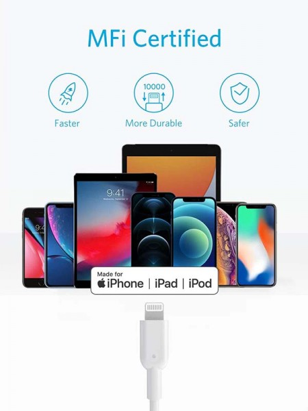 Anker PowerLine III Quick USB C to Lightning Charg