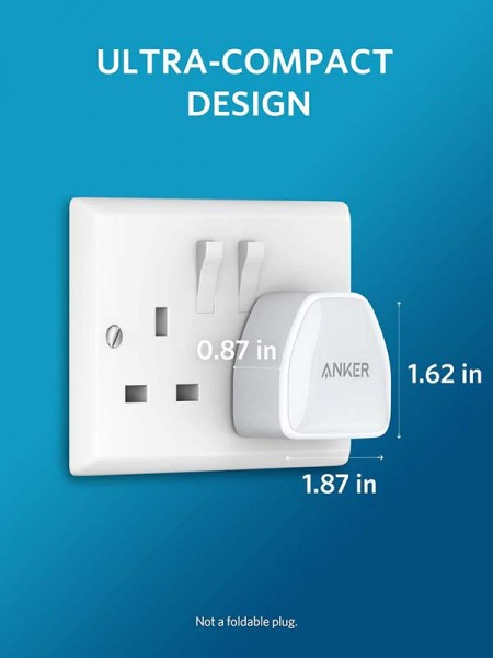 Anker Powerport III Nano 20W Ultra-Compact Phone &