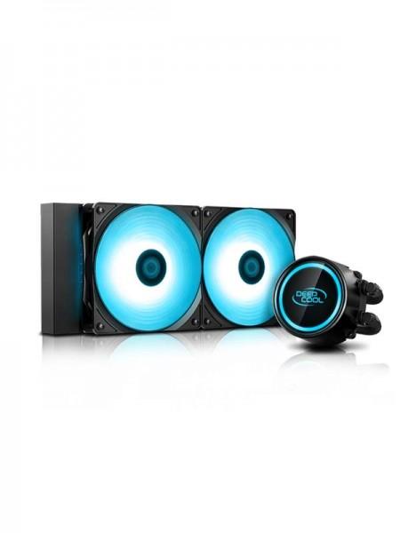 DEEPCOOL GAMMAXX L240 V2, RGB, AIO CPU Liquid Cool