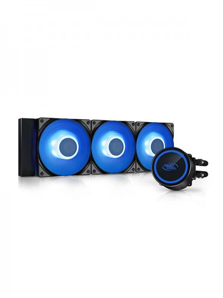 DEEPCOOL GAMMAXX L360 ARGB, AIO CPU Liquid Cooler,