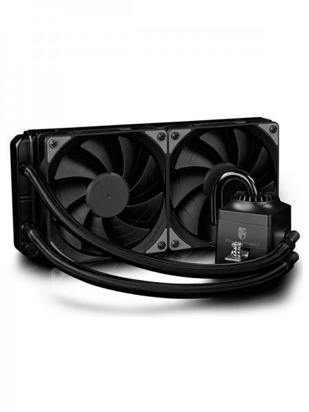 DEEPCOOL Captain 240EX RGB, Liquid CPU Cooler | DP