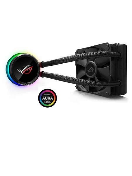 ASUS ROG Ryuo 120 all-in-one liquid CPU cooler wit