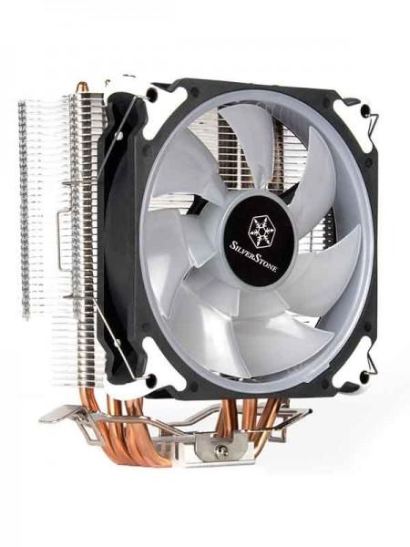 SilverStone AR12 RGB 120mm CPU Air Cooler - SST-AR