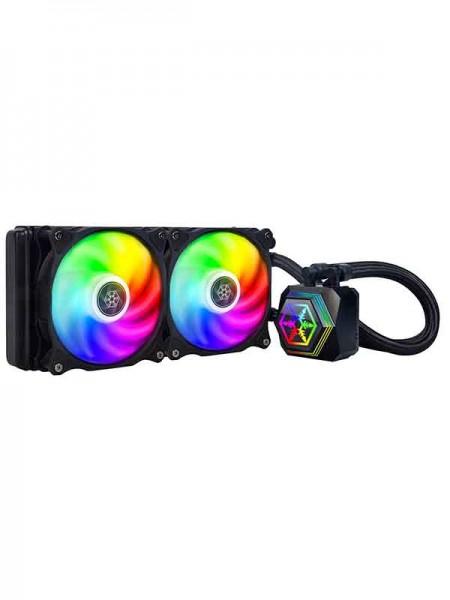 SilverStone PF240 ARGB All-In-One Dual Fan Liquid