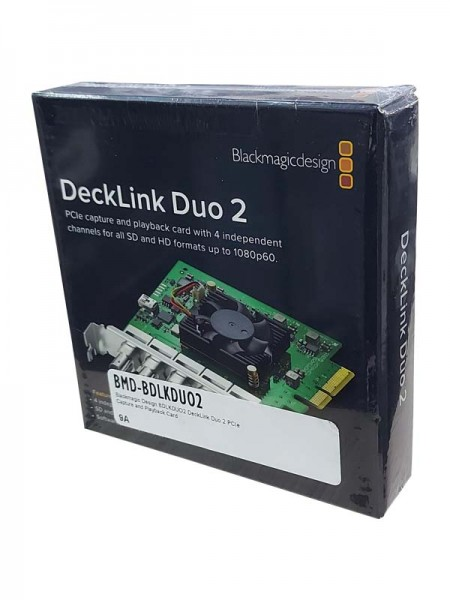 BLACKMAGIC DeckLink Duo 2 Capture and Playback Car