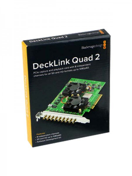 BLACKMAGIC DeckLink Quad 2, 8-Channel 3G-SDI Captu