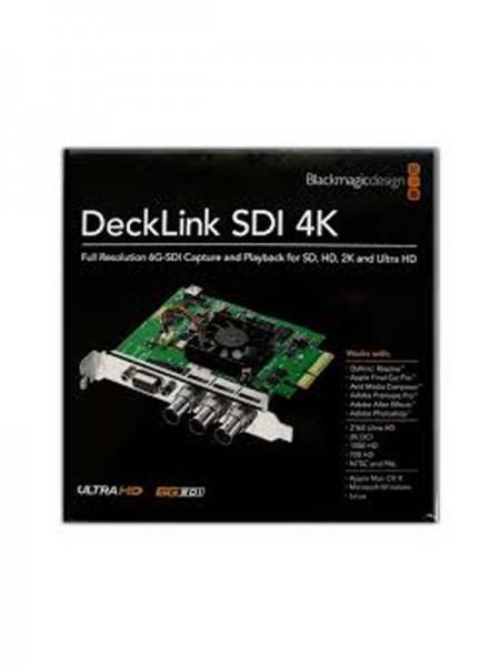 BLACKMAGIC DeckLink SDI 4K Capture and Playback Ca
