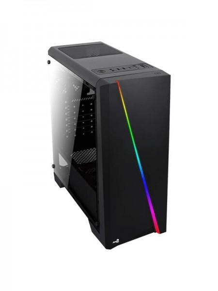 AeroCool Cylon Tempered Glass RGB MID Tower - Blac