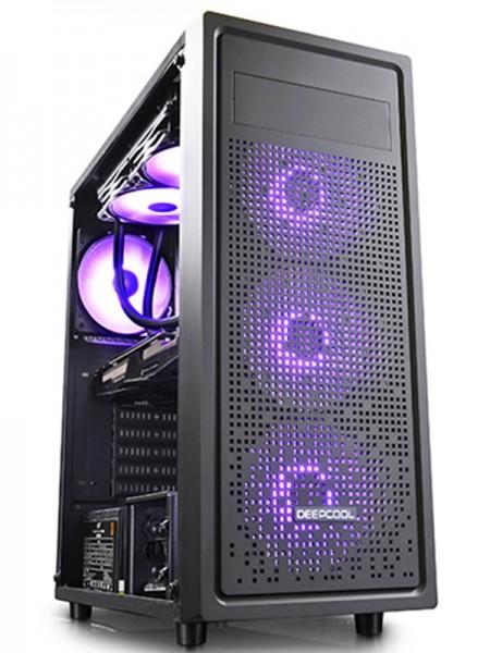 DeepCool E-SHIELD Tempered Glass Computer Case - D