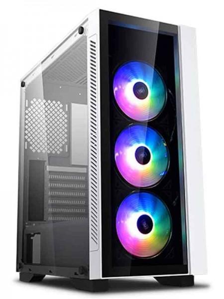 DeepCool Matrexx 55 V3 ADD-RGB WH 3F Tempered Glas