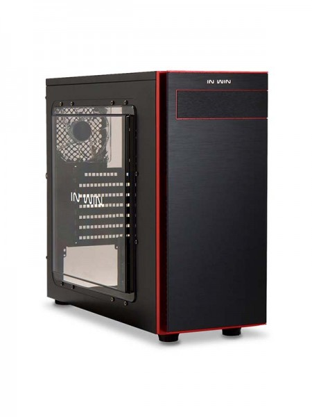 INWIN 703 ATX Mid Tower TEMPERED GLASS CASING - Bl