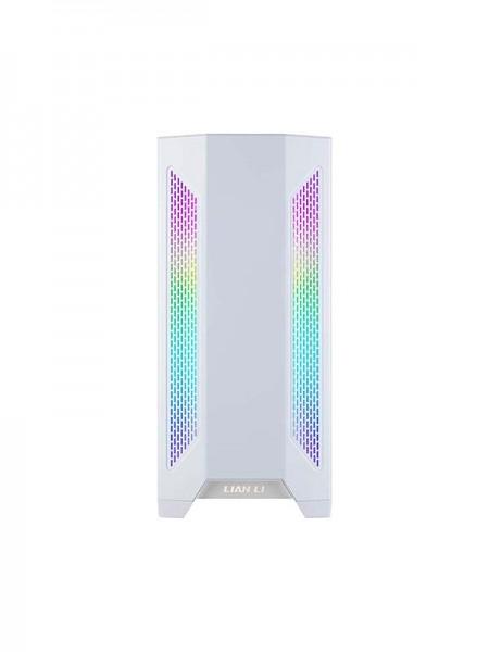 LIAN LI LANCOOL 2 White Tempered Glass ATX Case -W
