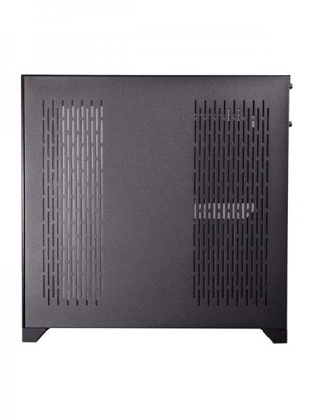 LIAN LI PC-011 Dynamic Black Tempered Glass ATX Ca
