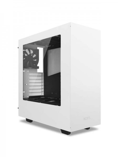 NZXT S340 Steel Compact ATX Mid-Tower Case with Te