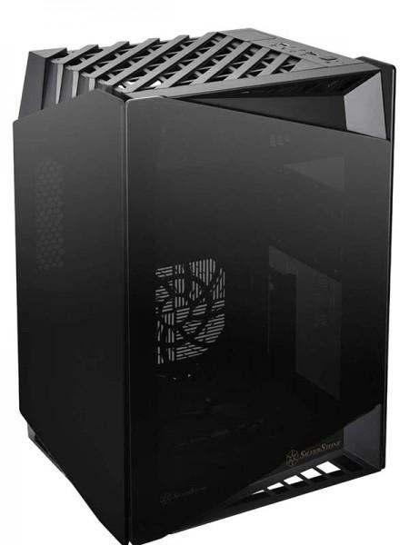 SilverStone LD03 Mini-ITX Case, Black - SST-LD03B