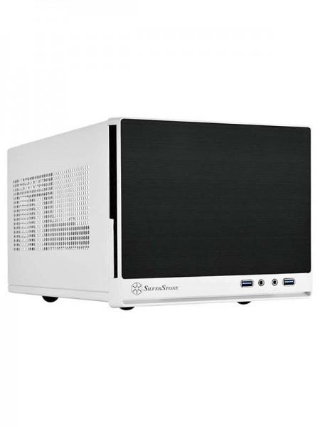 SilverStone SG13 Mini-ITX Case, White - SST-SG13WB